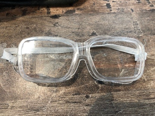 Recalled Safety Goggles