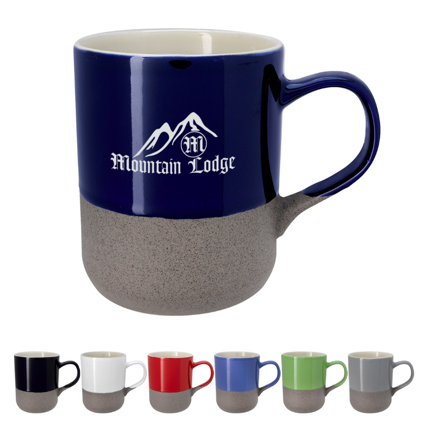 Recalled Coastline Ceramic Mug