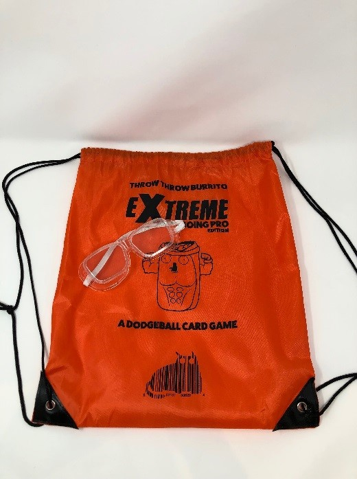Game Set packaging for recalled safety goggles