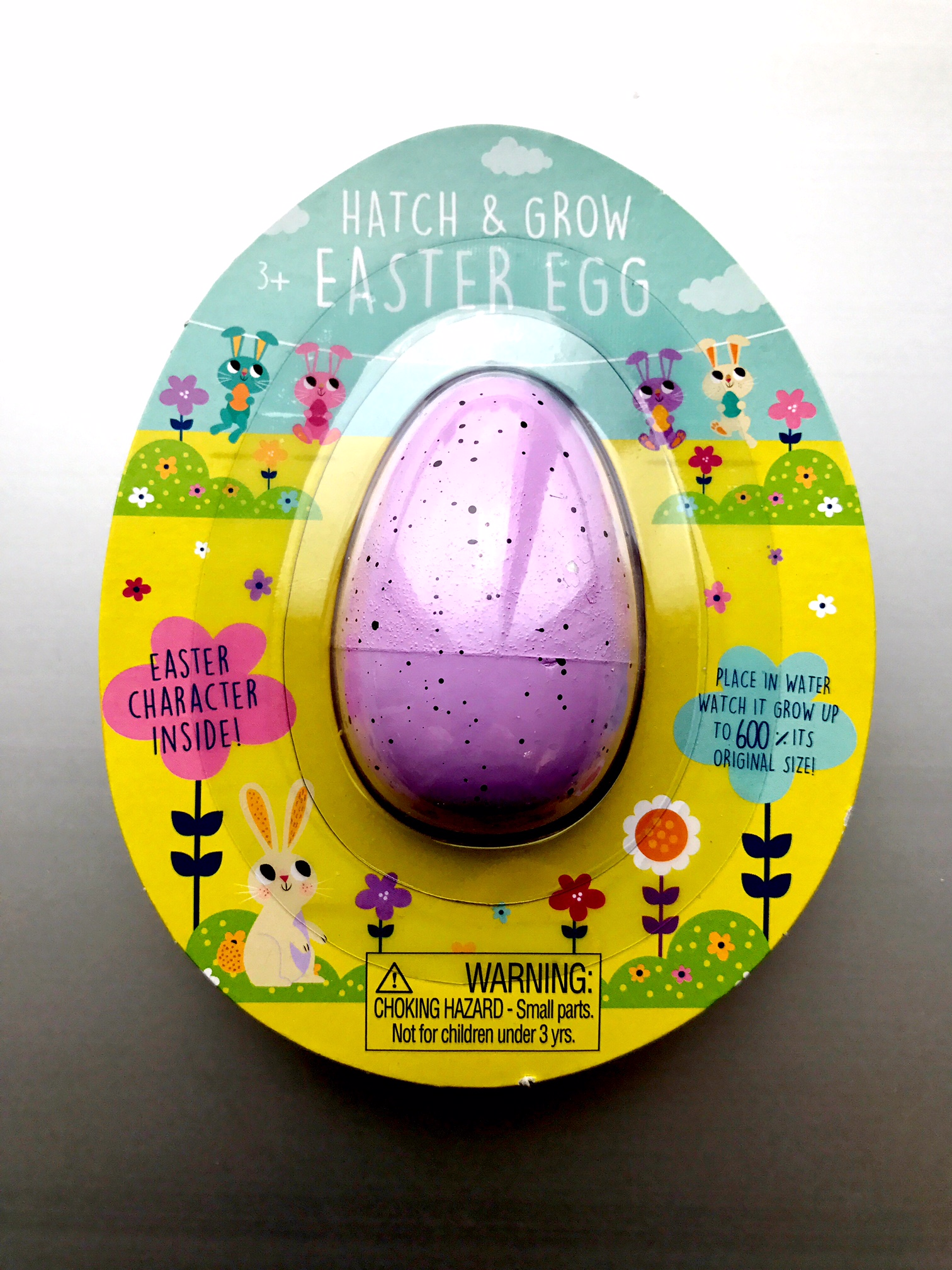 Hatch & Grow—Purple Easter Egg