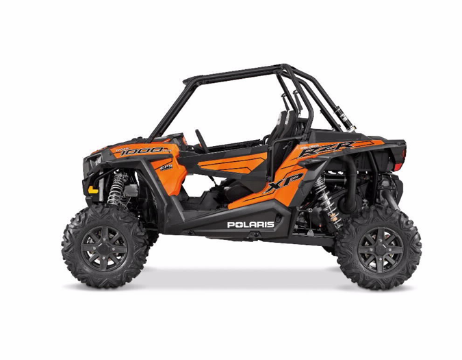 2015 RZR XP 1000 – Orange Madness