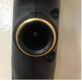 Interior connectors made of black plastic are subject to recall