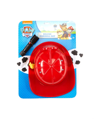 Packaging of Nickelodeon PAW PATROL Deluxe Marshall Hat with flashlight