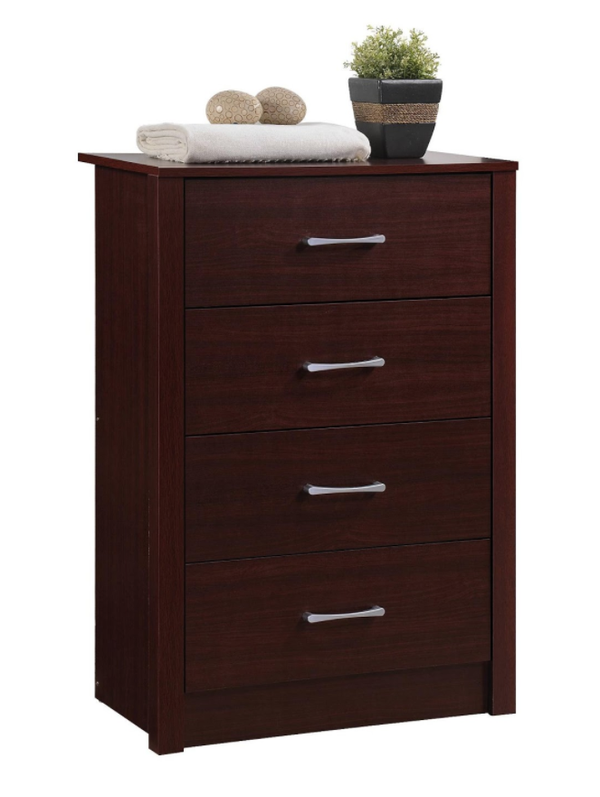 Recalled Hodedah HI4DR 4-drawer chest