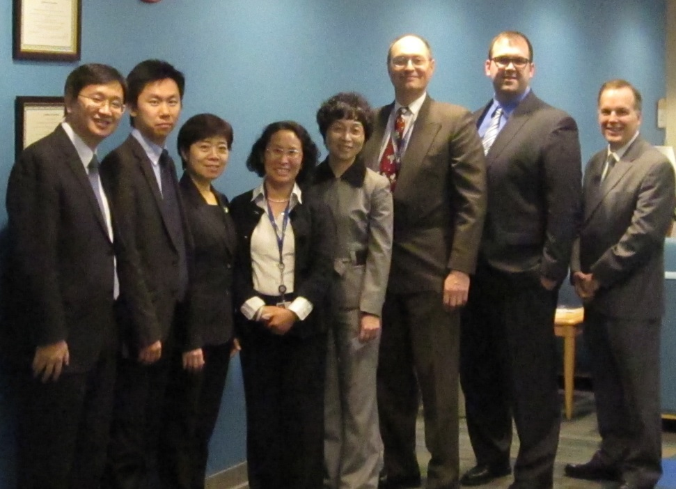 Director General Ms. Wang Zongling and her staff visited CPSC Laboratory.