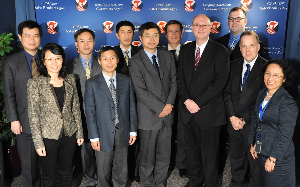 Yang Wanshan and his staff visited CPSC Headquarters