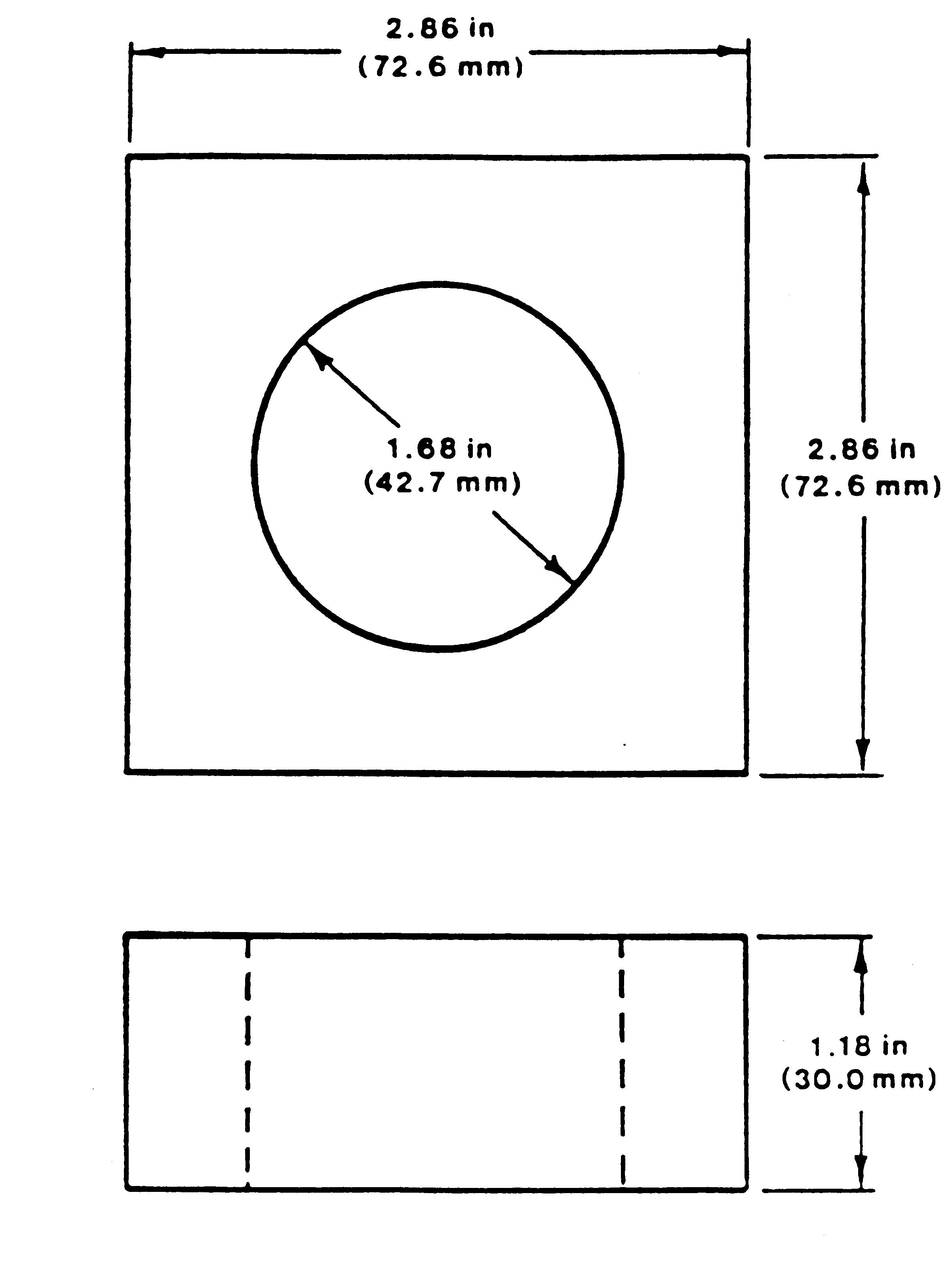 rattle supplemental test fixture diagram
