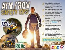 ATV/ROV Safety Tips