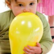 Balloons Can be Suffocation Danger to Kids