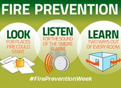 This is Fire Prevention Week: Look, Listen, Learn
