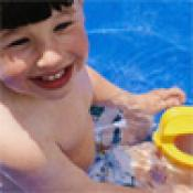 Inflatable Pool Safety Warning