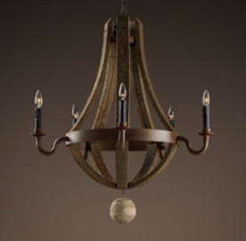 RH Recalls Wine Barrel Chandeliers Due to Injury Hazard