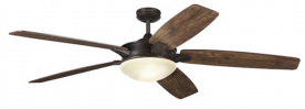 Harbor Breeze Kingsbury Ceiling Fans Recalled by HKC-US Due to Impact and Laceration Injury Hazards; Sold Exclusively at Lowe's Stores