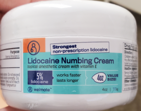 YYBA Recalls Welmate Lidocaine Numbing Cream Due to Failure to Meet Child Resistant Packaging Requirement; Risk of Poisoning (Recall Alert)