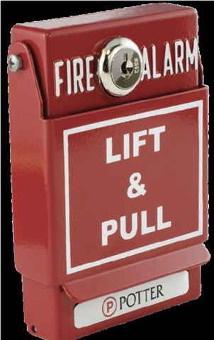 Recalled Dual Action Pull Station - Front