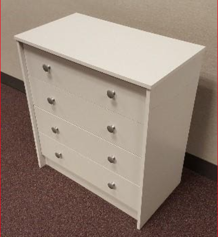 Recalled Essential Home Belmont 2.0 4-drawer Chest - White