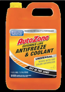 Recalled AUTOZONE Concentrate 50/50 Antifreeze