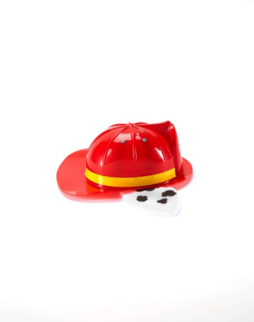 Nickelodeon PAW PATROL Deluxe Marshall Hat with flashlight (side view)