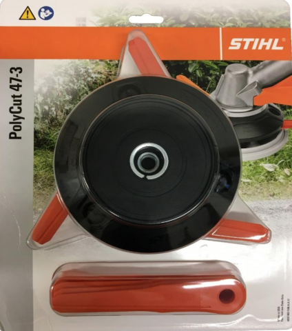 Recalled STIHL PolyCut 47-3 in packaging
