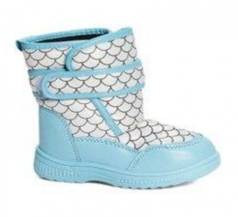 Recalled Lilly of New York children's boot –aqua