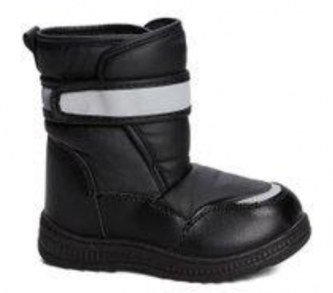 Recalled Lilly of New York children's boot –black with glitter