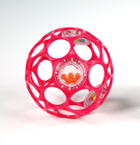 Oball Rattle (pink)